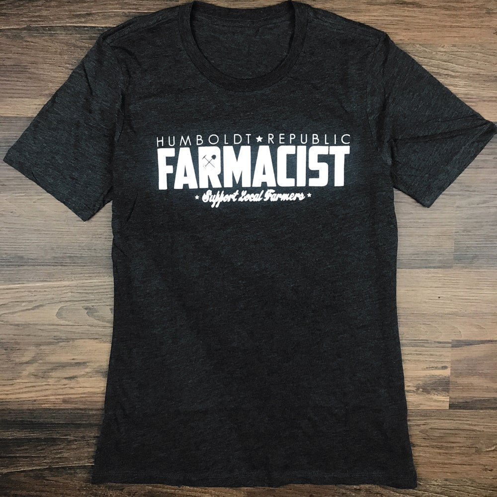 "Image of ""Farmacist"" Ladies Boyfriend Tee"