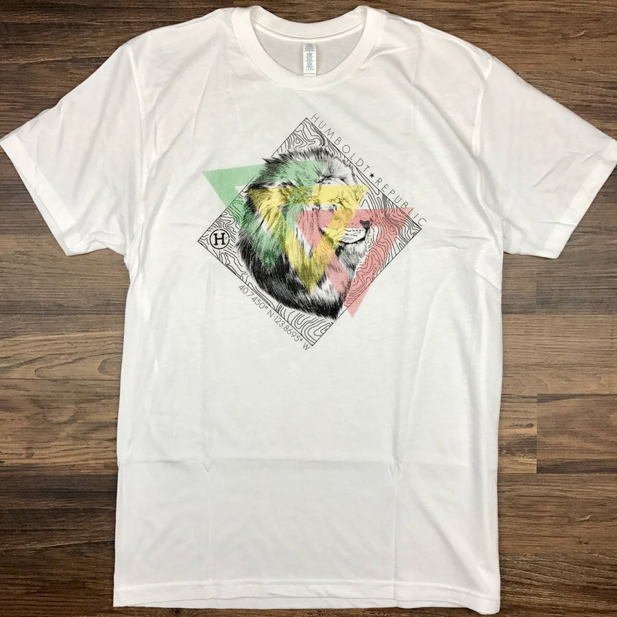 "Image of ""Maps"" Men's Modal Tee"