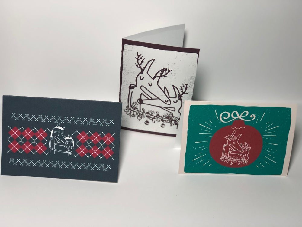 Image of Twin Fantasy Holiday Cards