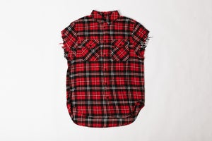 Image of Journey Well Cut-Off Flannel
