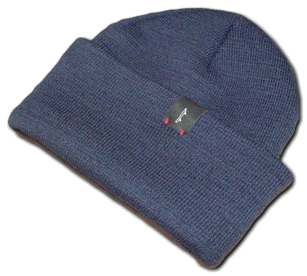 Image of Navy Skateboard Beanie