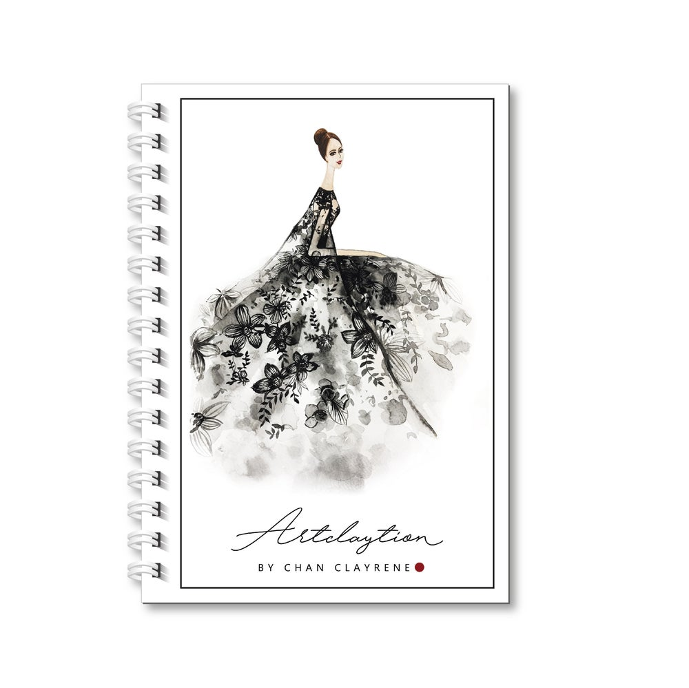 Image of Limited Edition Artclaytion Weekly . Monthly Planner [ CLASSY BLACK ]