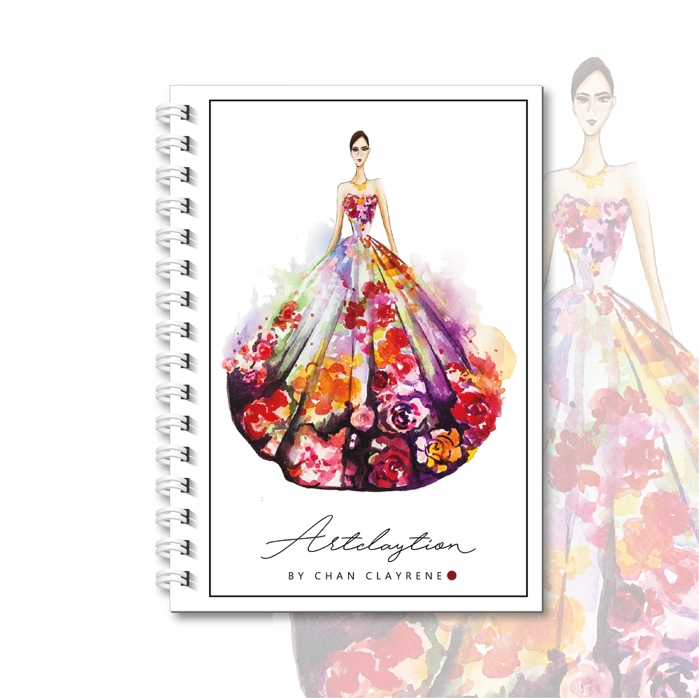 Image of Limited Edition Artclaytion Weekly . Monthly Planner [ FLORAL COUTURE ]