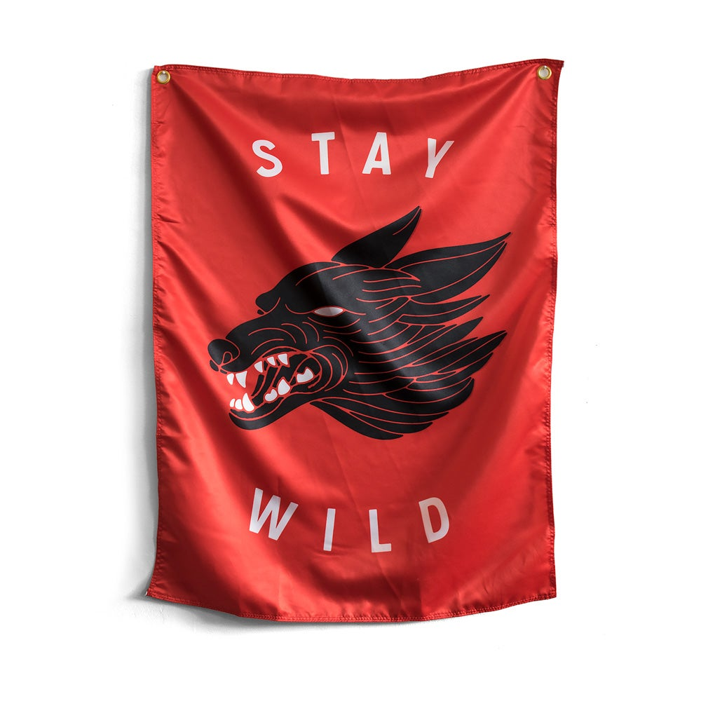 Image of Stay Wild Flag