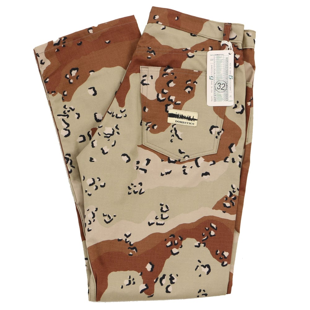 Image of MADE IN USA DOMEstics. Desert Camo Pants