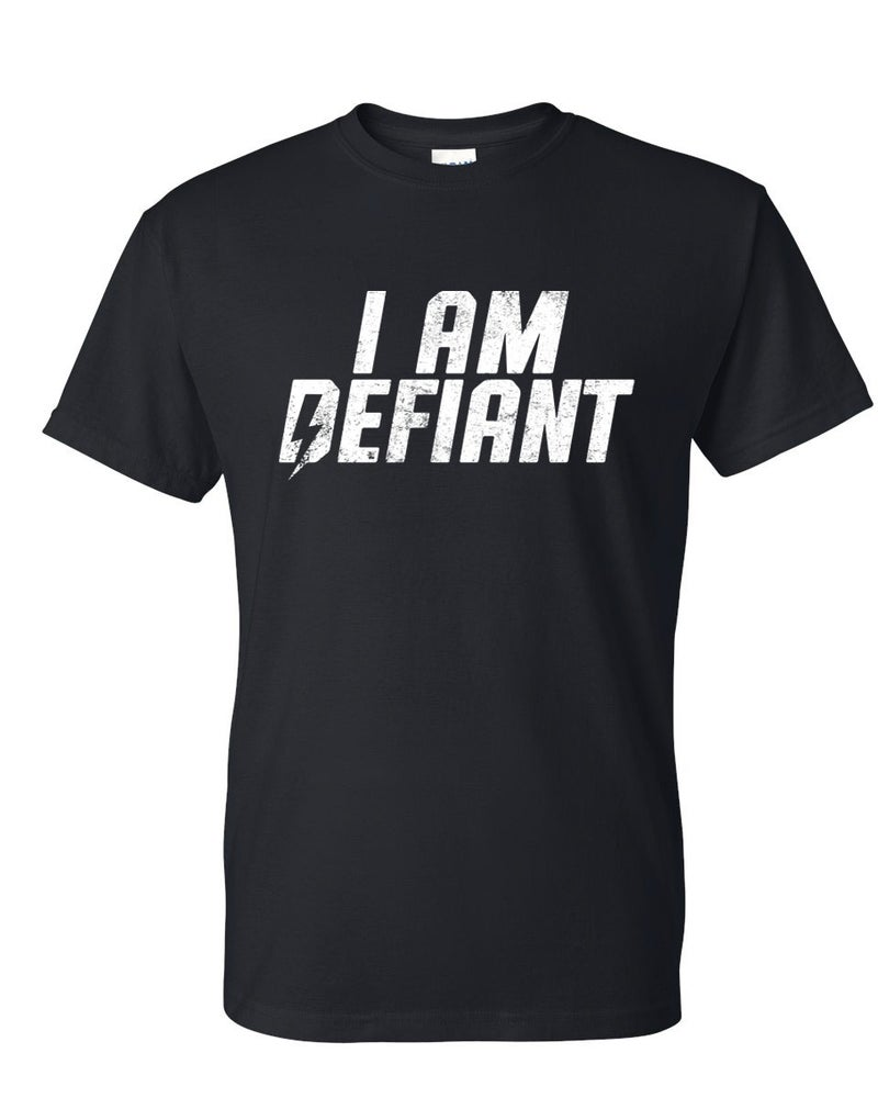 Image of I Am Defiant (Black) T-Shirt