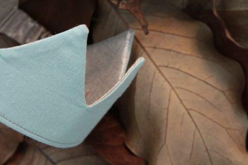 Image of Couronne lin précieux
