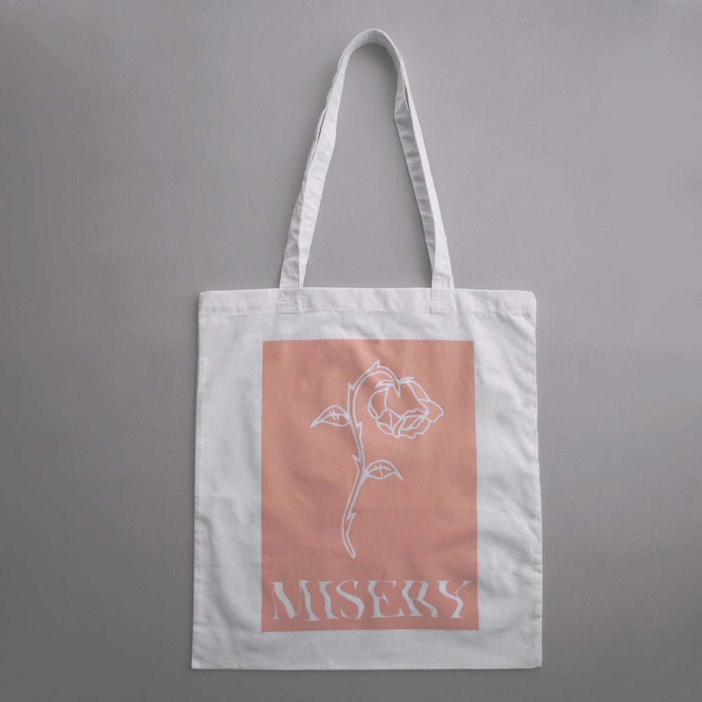 Image of SECONDS 'Misery' Tote Bag