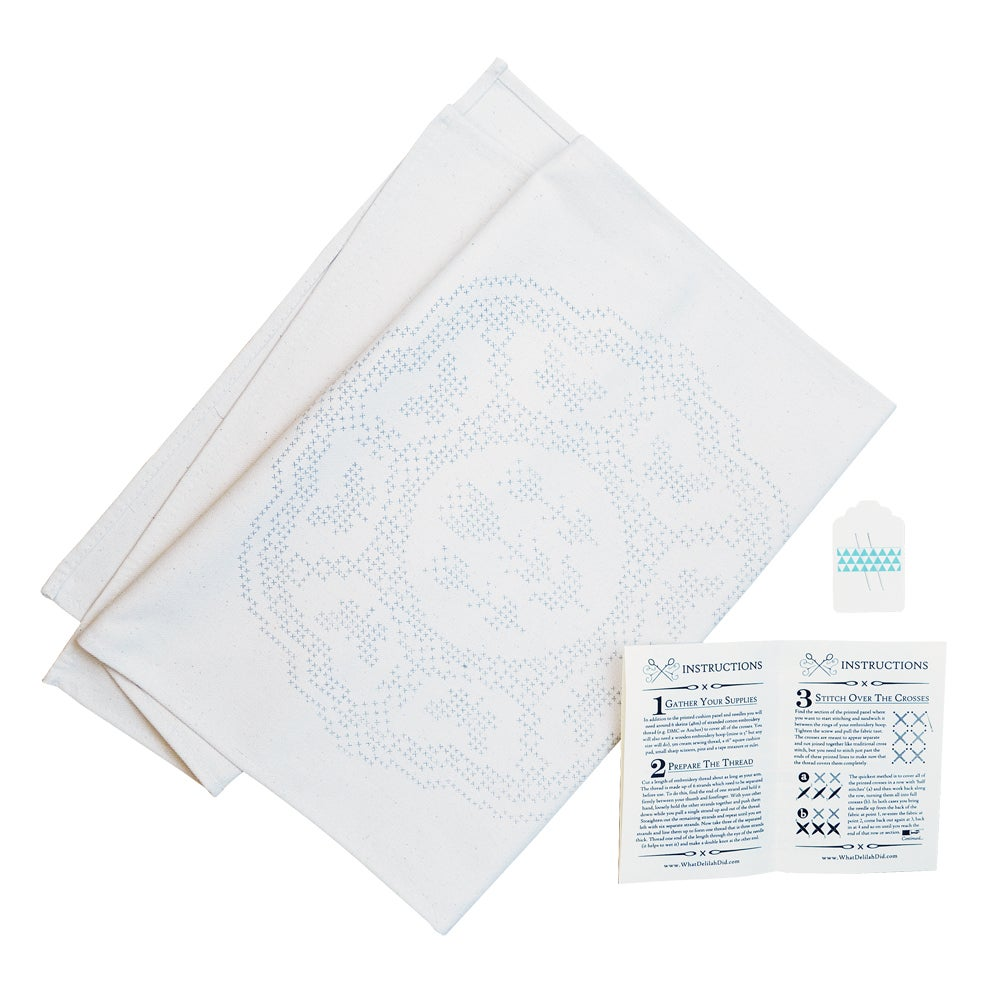 Image of Basic Printed Cushion Kit - Fanciful Flutterbies