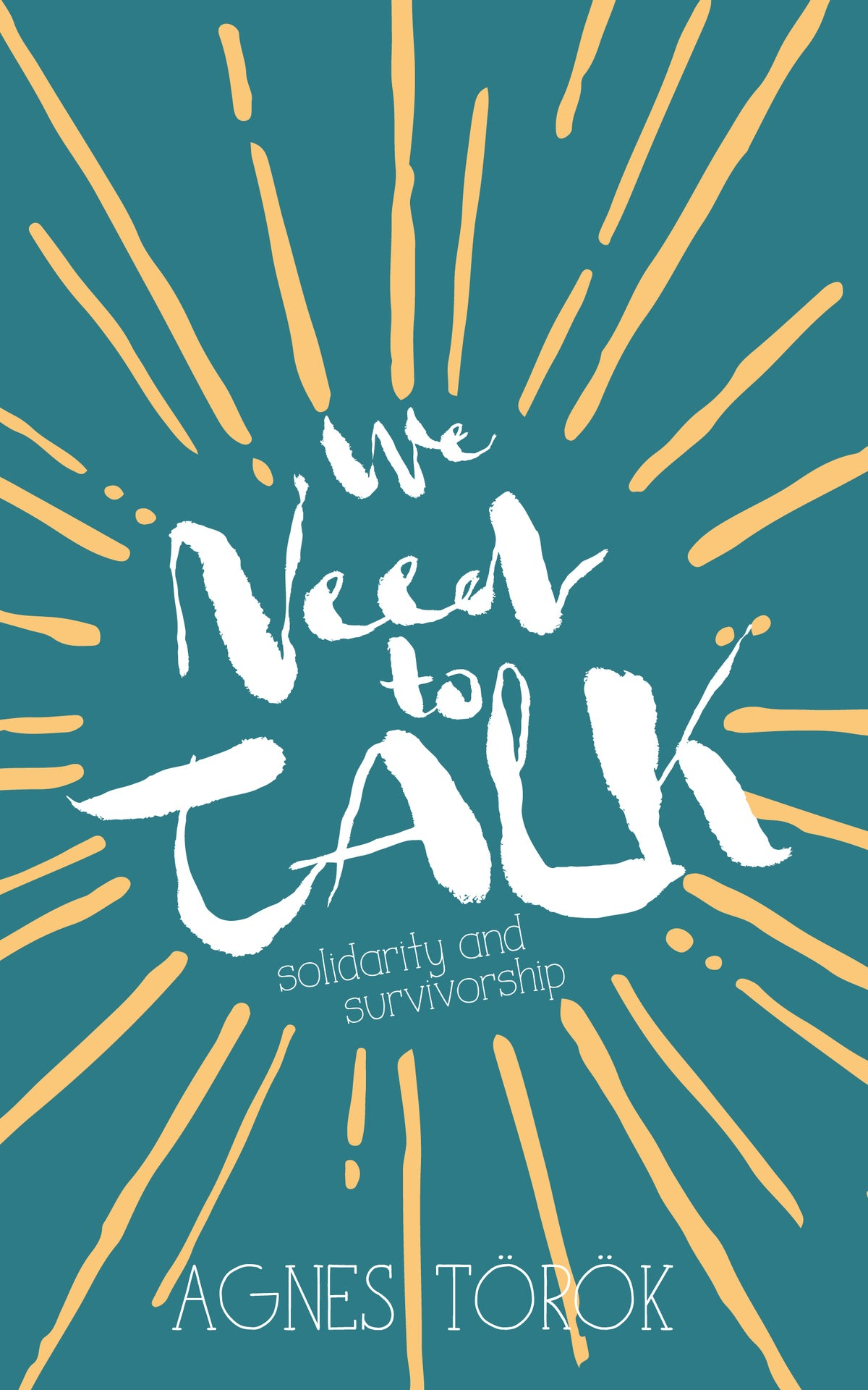 Image of We Need to Talk by Agnes Török
