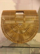 Image of Natural wood purse