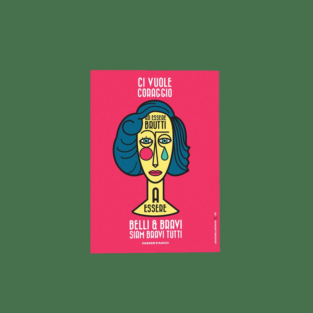 Image of Dargen D'Amico | Stampa Limited 50 Esemplari | Modigliani