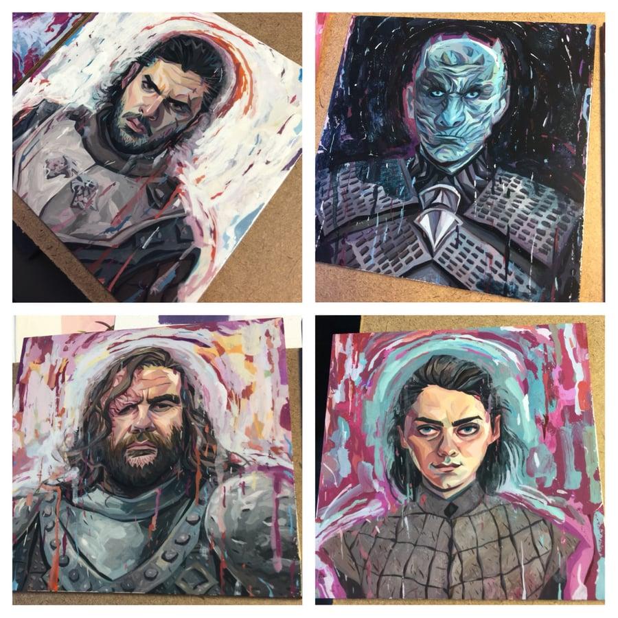 Image of Game of Thrones Original Paintings - Individuals