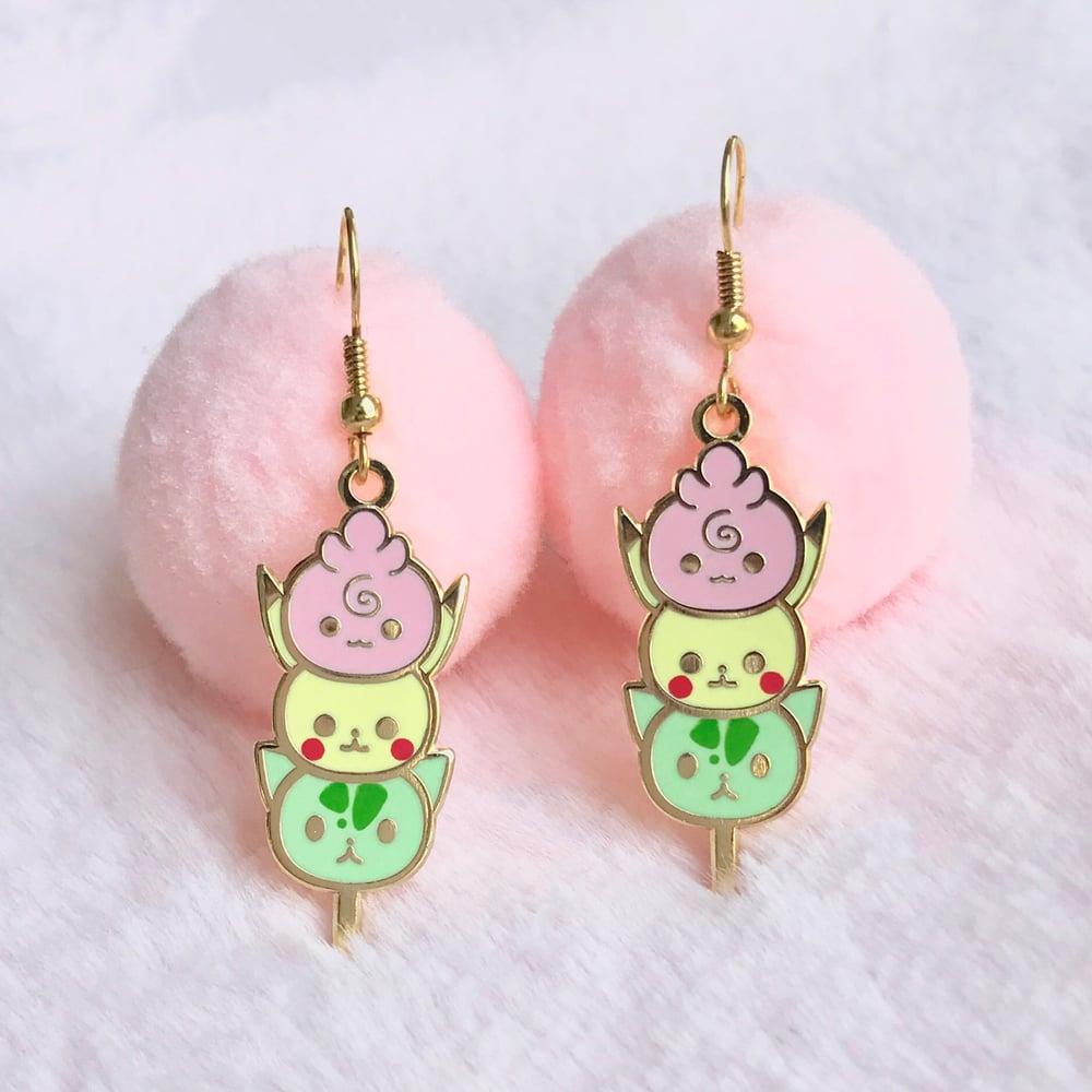 Image of 22kt  Dango Earrings