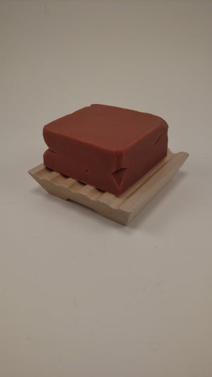 Image of Camphor Clove Soap Bar & Maple Soap Dish