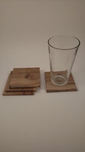 Image of Coaster Set4 (Ambrosia Maple)