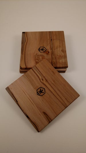 Image of Coaster Set4 (Ambrosia Maple)