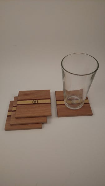 Image of Coaster Set4 (Lyptus)