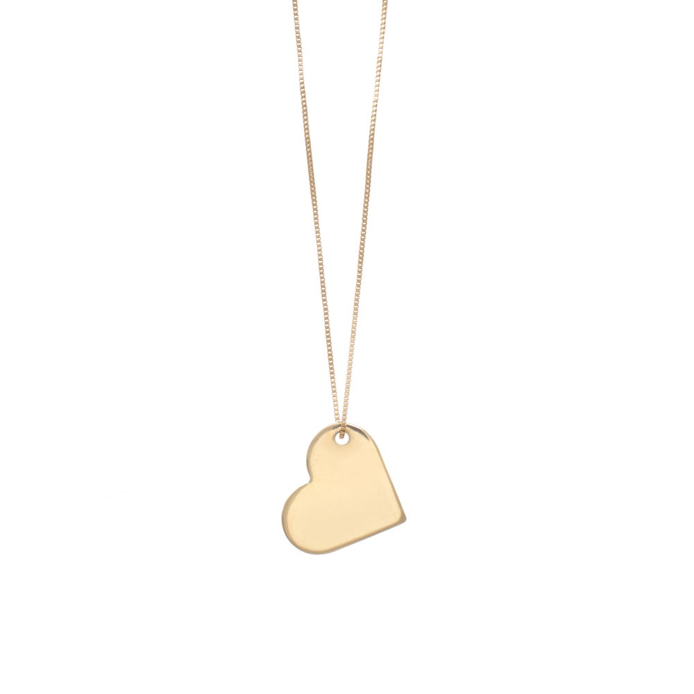 Image of My Gold Big LOVE Necklace