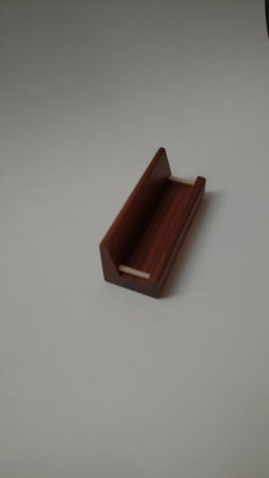 Image of Business Card Bench (Walnut)