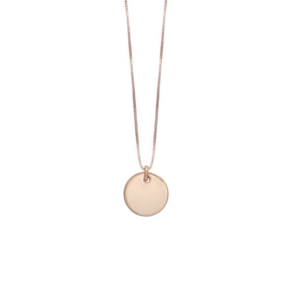 Image of My Rose Gold Coin Necklace