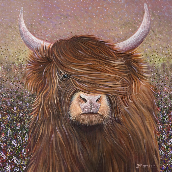 Image of Highland Heather giclée print