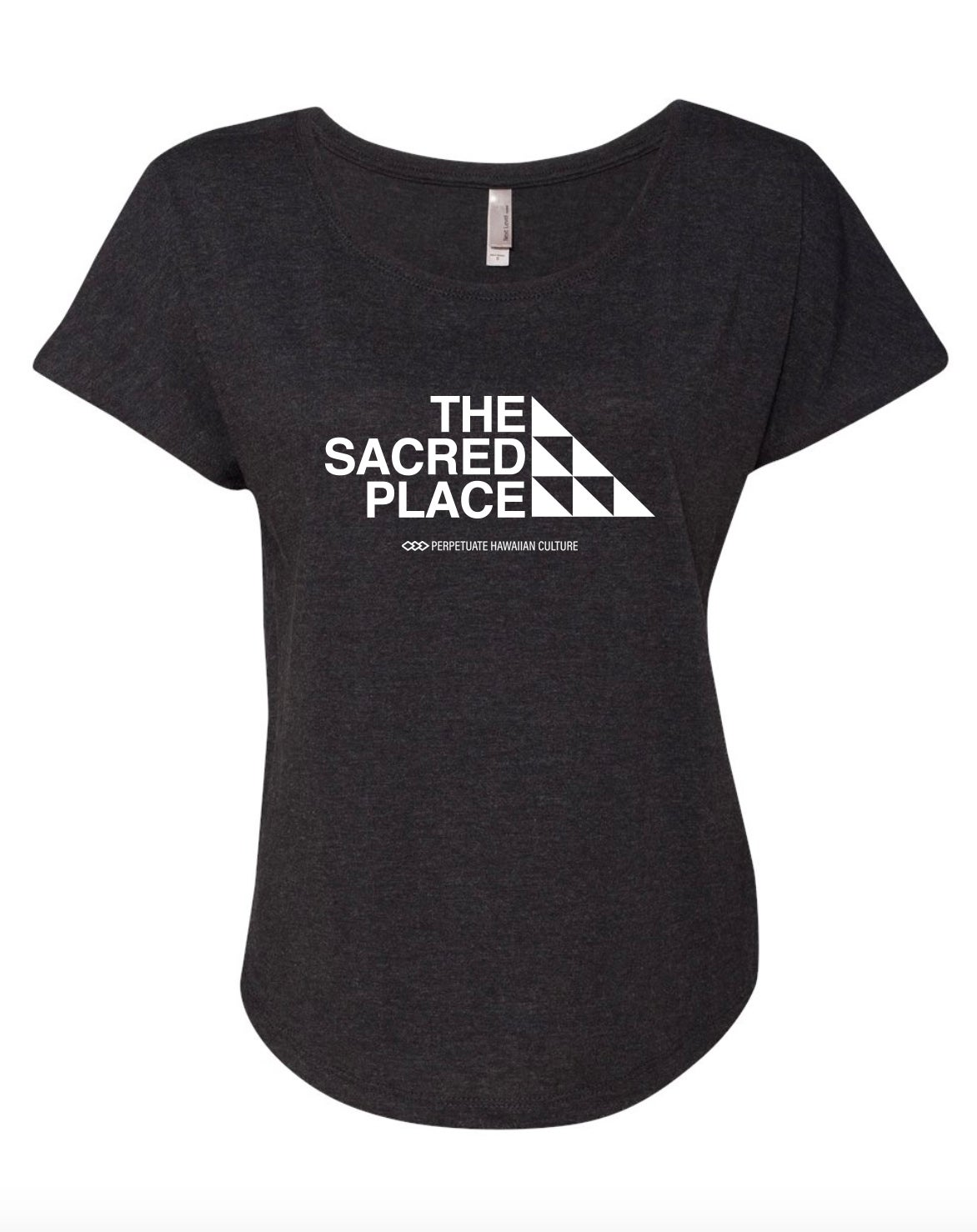 Image of The Sacred Place Shirt (Women's Dolman White)