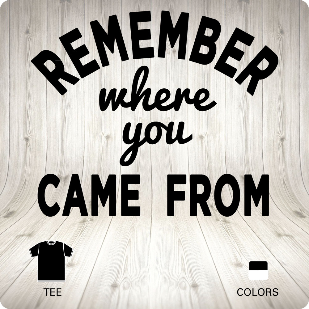 Image of REMEMBER - Tee