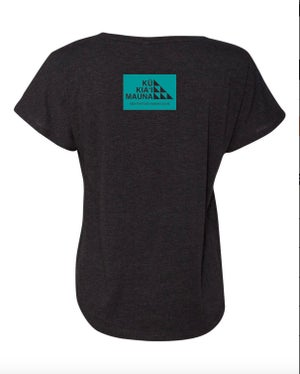 Image of The Sacred Place Shirt (Women's Dolman Teal)