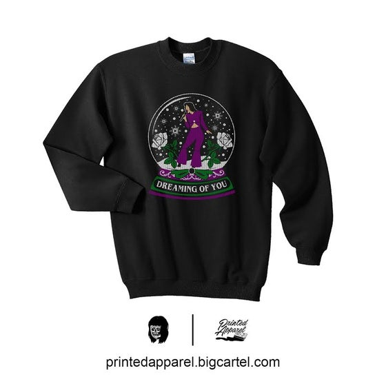 Image of Dreaming Of You SWEATER in BLACK