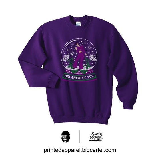 Image of Dreaming Of You SWEATER in PURPLE