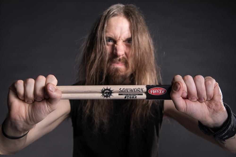 Image of Dirk Verbeuren Soilwork Drum Sticks Signed/Unsigned