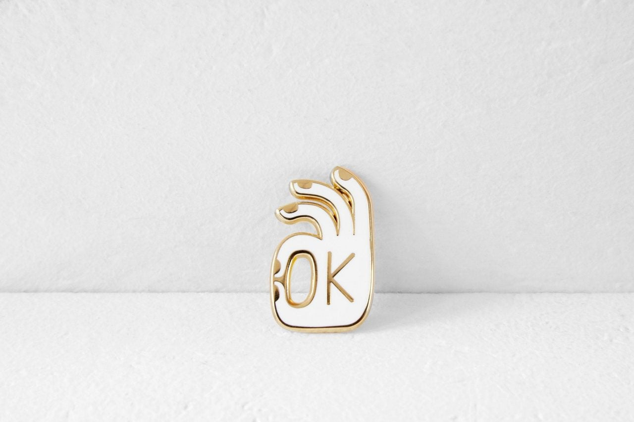 Image of OK PIN GOLD