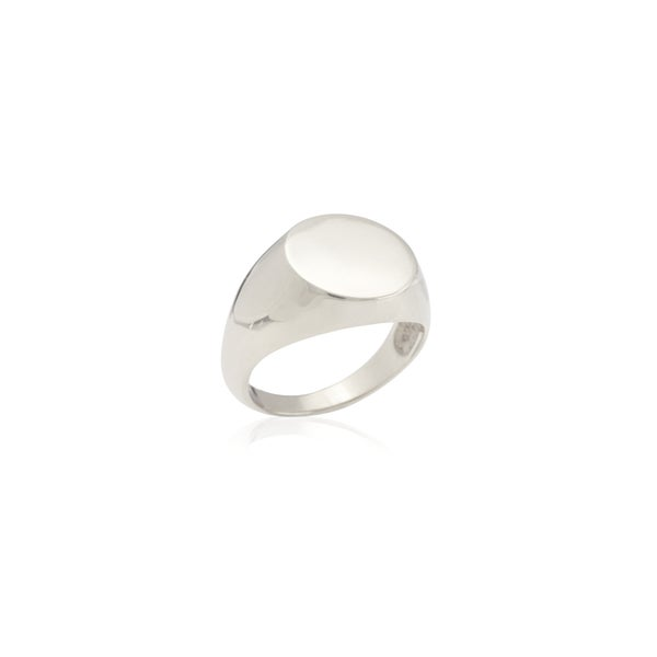 Image of Silver Signet Ring