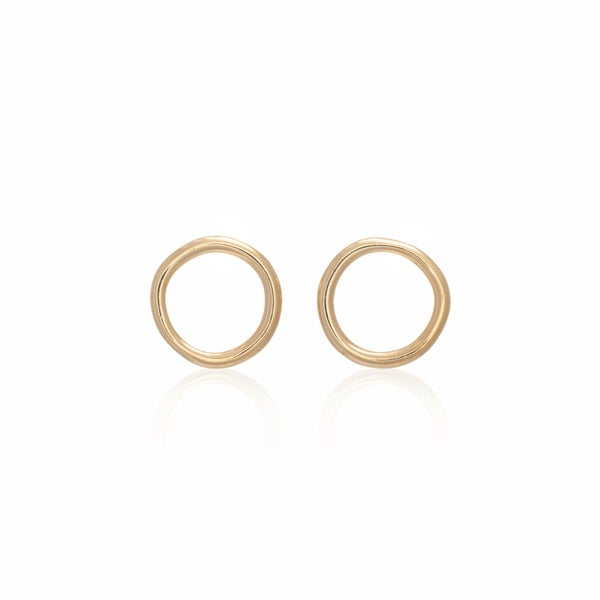 Image of Gold Unicycle Earring