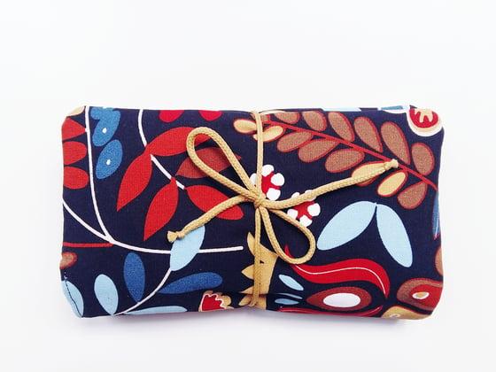 Image of Bolso para pañales / Flores