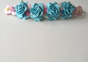 Image of TURQUOISE BASED HEADBANDS