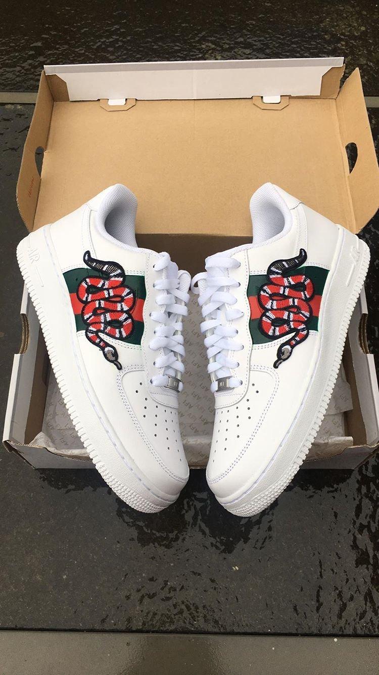 Nike Air Force 1 GUCCI SNAKE UK10