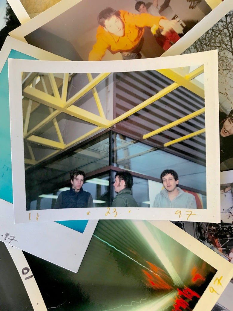 Image of It Was 20 Years Ago Today - LTD edition Modest Mouse Polaroid Set 1997