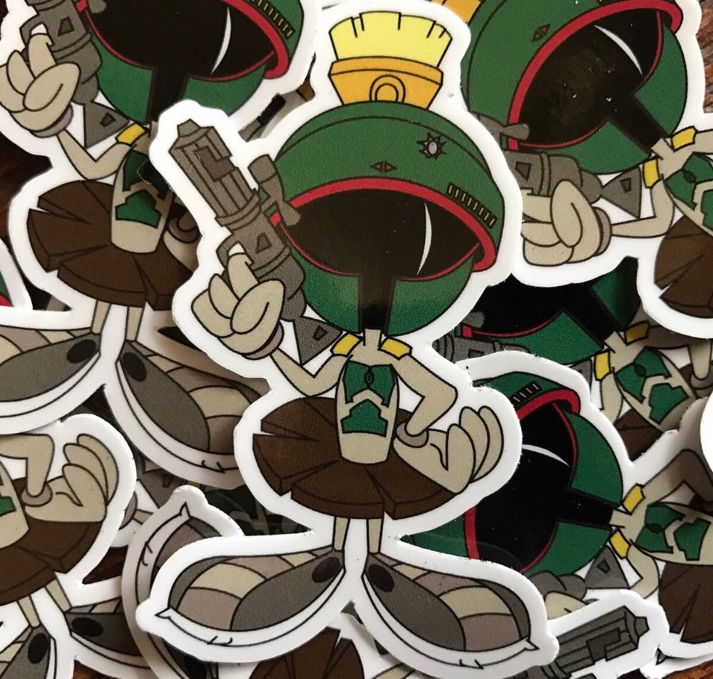 Image of Marvin the Fett Sticker