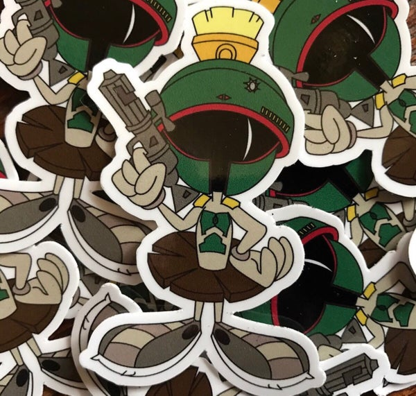 Image of Marvin the Fett Sticker