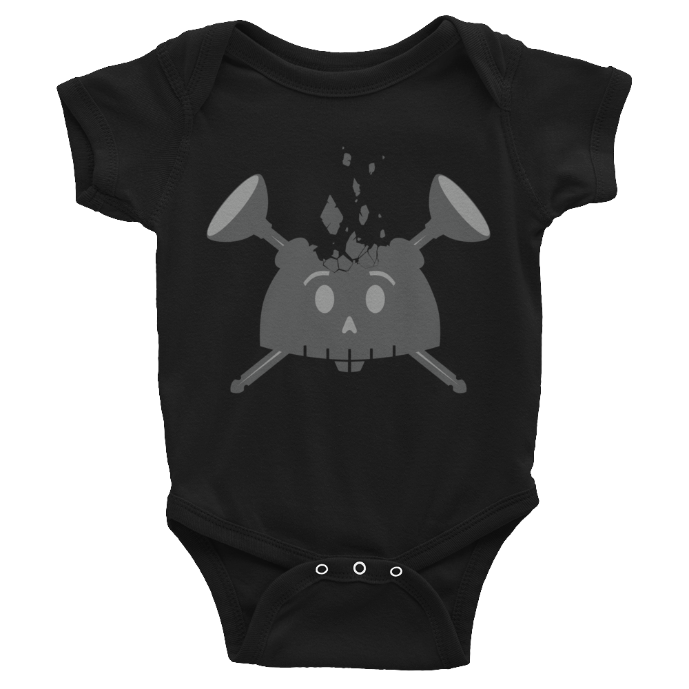 Image of Young Dreamer Baby Onesie Black