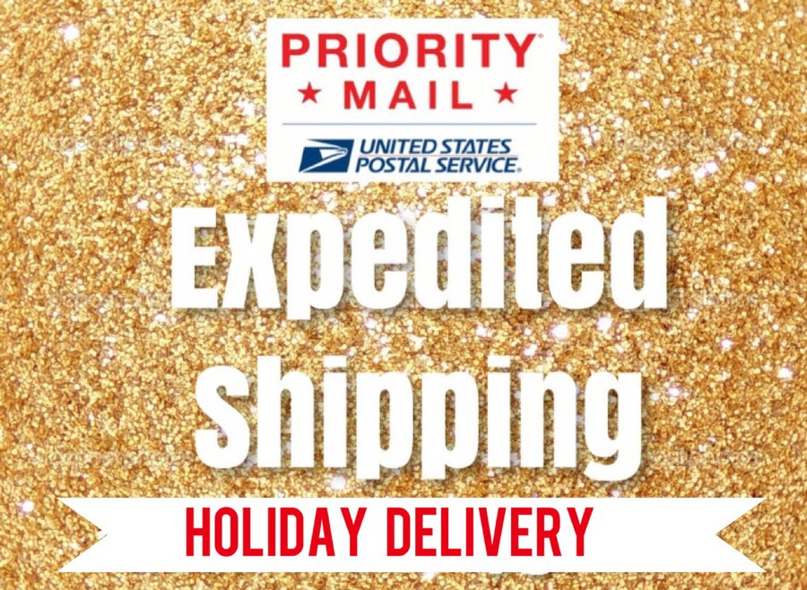 Image of Expedited Shipping Upgrade • Holidaze Edition