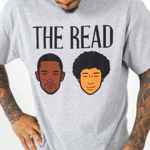 Image of The Read Grey Logo T-Shirt