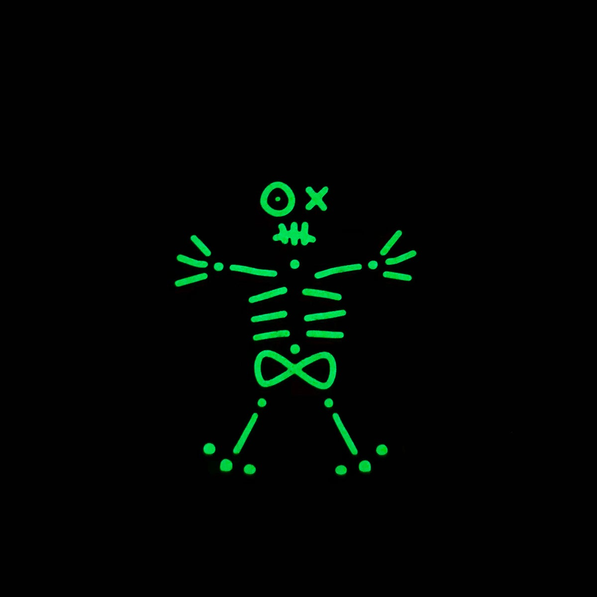 Image of Skeleton Gingerbread Man Pin