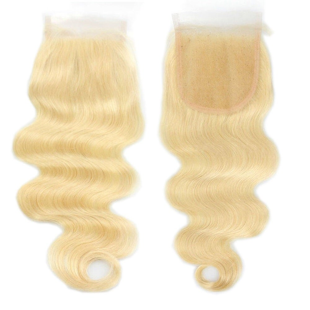 Image of 613 Blonde Closure-No Part