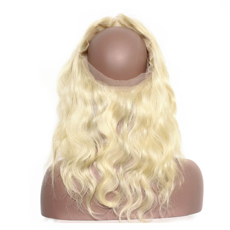 Image of 613 Blonde 360 Frontal- Platinum