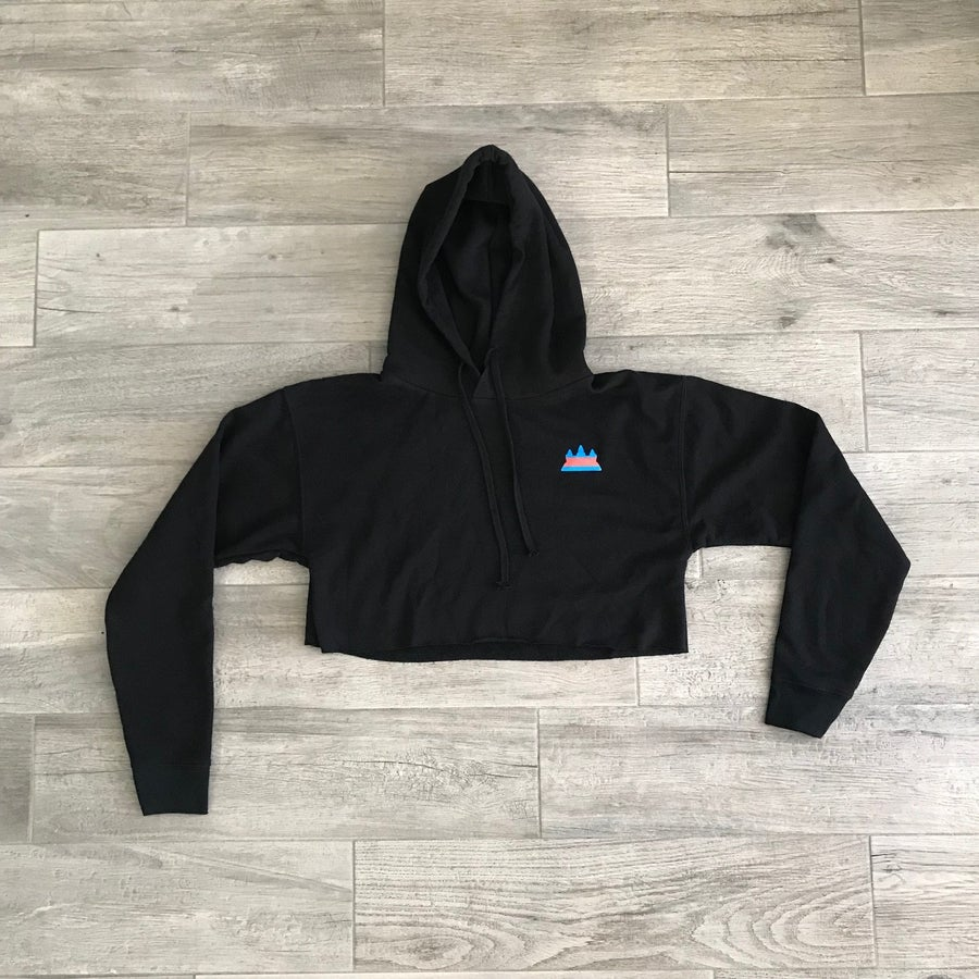 Image of FlagShip Women Cropped Hoodie