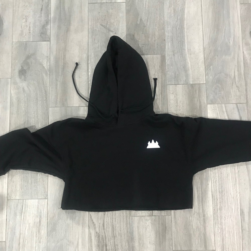 Image of Women Cropped Hoodie
