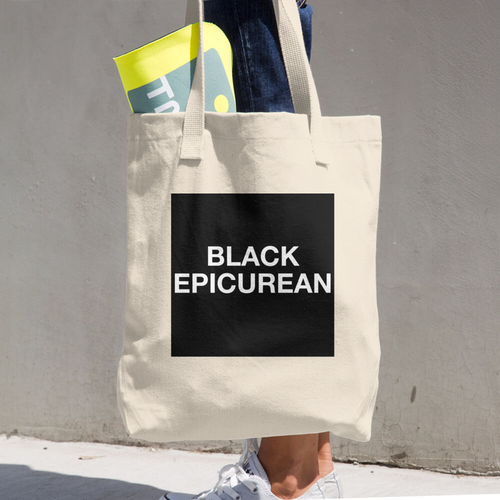 Image of Black Epicurean Tote Bag